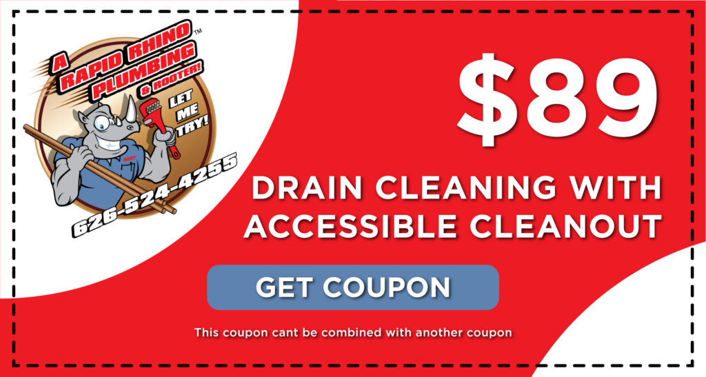 Rapid Rhino Drain Cleaning Coupon